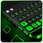 Neon Black Business Keyboard Theme icon