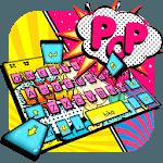 Pop Style Lady Keyboard Theme icon