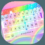 Rainbow Fonts word Keyboard Theme icon