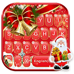 Red Christmas1 Keyboard Theme icon