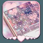 Rose Gold Heart Keyboard Theme icon