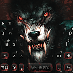 Fierce Scary Wolf Keyboard Theme icon
