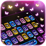 Sparkle Fairy Butterfly Keyboard Theme icon