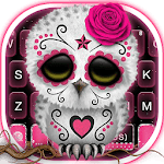 Sugar Skull Owl Keyboard Theme icon