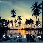 Sunset Beach Leisure Keyboard Theme icon