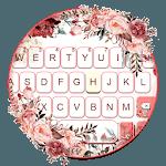 Watercolor Pretty Floral Keyboard Theme icon