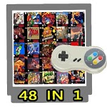 Old Shcool Games 90s SNES Retro NES - 150 IN 1 icon