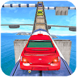 Impossible Drive Tracks Car Racing - Industrial icon