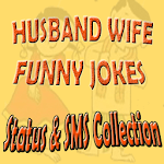 Husband Wife Funny Jokes Status & SMS Collection icon