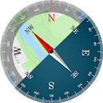Compass Maps Pro - Digital Compass 360 Free for pc icon