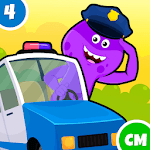 My Monster Town - Police Station Games for Kids APK icon