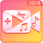 Audio Video Mixer, Video to mp3 and Video Cutter APK icon