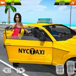 US Taxi Driving Simulator 2019 icon