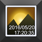Timestamp Photo and Video Free icon