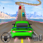 Crazy Car Driving Simulator: Impossible Sky Tracks icon