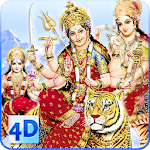 4D Maa Durga Live Wallpaper APK icon