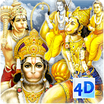 4D Hanuman Live Wallpaper icon