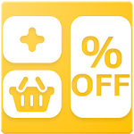 Shopping Calculator with Tax for Grocery icon