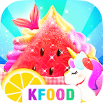 Unicorn Chef: Summer Ice Foods - Cooking Games icon