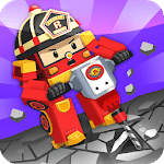 Robocar Poli Concrete Rescue Game icon