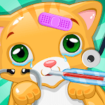 Little Cat Doctor:Pet Vet Game for pc icon