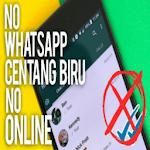 Cara WA Tidak Terlihat Online icon