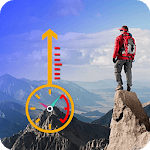 Find My Altitude Now: Altimeter Free icon