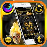 Gold Skull Launcher Theme icon