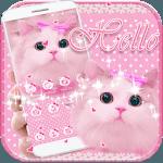 Cute Kitty theme Pink Bow Kitty icon