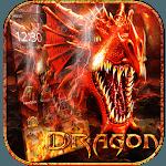 Fire Dragon Theme Wallpaper icon