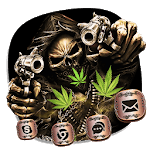 Weed Ghost Gun Launcher Theme icon
