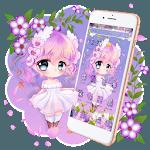 Cute Princess Kawaii Girl Theme💃 for pc icon