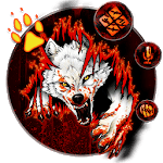 Blood Wolf Themes Live Wallpapers icon