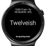 Twelveish - Customizable Watch Face for Wear OS for pc icon