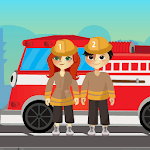 Kids Fire Fighters Training & Rescue Game icon