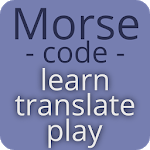 Morse code - learn and play APK icon