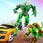 Lion Robot Car: Futuristic Robot Transformation icon