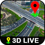 GPS Earth Global Satellite View, Live Street Map icon