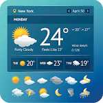 Live Weather Forecast Weather Temperature icon