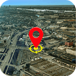 Earth Map Live GPS:Navigation & route planner 2019 icon