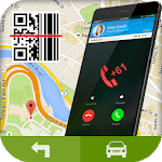 GPS Navigation Maps Directions & QR Scanner icon