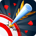 Crossbow - Target shooting or hitting the target icon