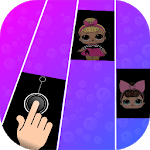LOL Piano tiles surprise Dolls icon