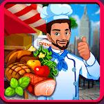 Kitchen master : fastfood restaurant icon