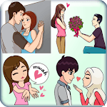 Love Couple Stickers For Whatsapp - WAStickerApps icon