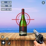 Real Bottle Shooter Hero 2019 :Free Shooting Game icon