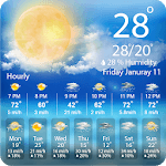 The Weather Forecast : Live Hourly & Daily Updates for pc icon