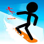 Stickman Snow Ride APK icon
