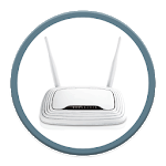 WIFI ROUTER PAGE SETUP icon