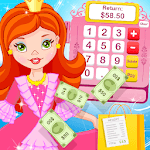 Pink Princess Cashier -Shopping Mall Cash Register icon